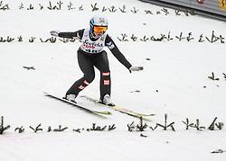 03.02.2019, Energie AG Skisprung Arena, Hinzenbach, AUT, FIS Weltcup Ski Sprung, Damen, im Bild Jacqueline Seifriedsberger (AUT) // Jacqueline Seifriedsberger (AUT) during the woman's Jump of FIS Ski Jumping World Cup at the Energie AG Skisprung Arena in Hinzenbach, Austria on 2019/02/03. EXPA Pictures © 2019, PhotoCredit: EXPA/ Reinhard Eisenbauer