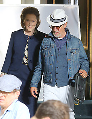 NY: Meryl Streep filming Steven Spielberg's The Papers - 19 July 2017