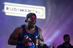 © Licensed to London News Pictures . 07/06/2015 . Manchester , UK . RUDIMENTAL on stage at the Parklife 2015 music festival in Heaton Park , Manchester . Photo credit : Joel Goodman/LNP