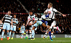 Johnny Russell of Derby County misses a chance to score - Mandatory by-line: Robbie Stephenson/JMP - 31/03/2017 - FOOTBALL - iPro Stadium - Derby, England - Derby County v Queens Park Rangers - Sky Bet Championship