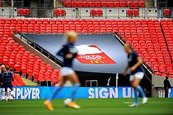FA Community shield branding - Mandatory by-line: Nizaam Jones/JMP - 29/08/2020 - FOOTBALL - Wembley Stadium - London, England - Chelsea v Manchester City - FA Women's Community Shield