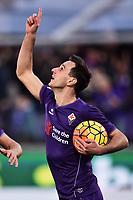 Esultanza Gol Nikola Kalinic Fiorentina Goal celebration 2-2 <br /> Firenze 22-11-2015 Stadio Artemio Franchi Football Calcio 2015/2016 Serie A Fiorentina - Empoli Foto Andrea Staccioli / Insidefoto