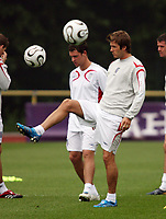 Photo: Chris Ratcliffe.<br />England Training Session. FIFA World Cup 2006. 28/06/2006.<br />David Beckham in training.
