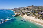 Aerial Ocean View Homes in Laguna Beach