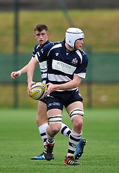 Sam Tiley - John Cabot of Bristol Academy U18 - Mandatory by-line: Paul Knight/JMP - 07/01/2017 - RUGBY - SGS Wise Campus - Bristol, England - Bristol Academy U18 v Exeter Chiefs U18 - Premiership U18 League