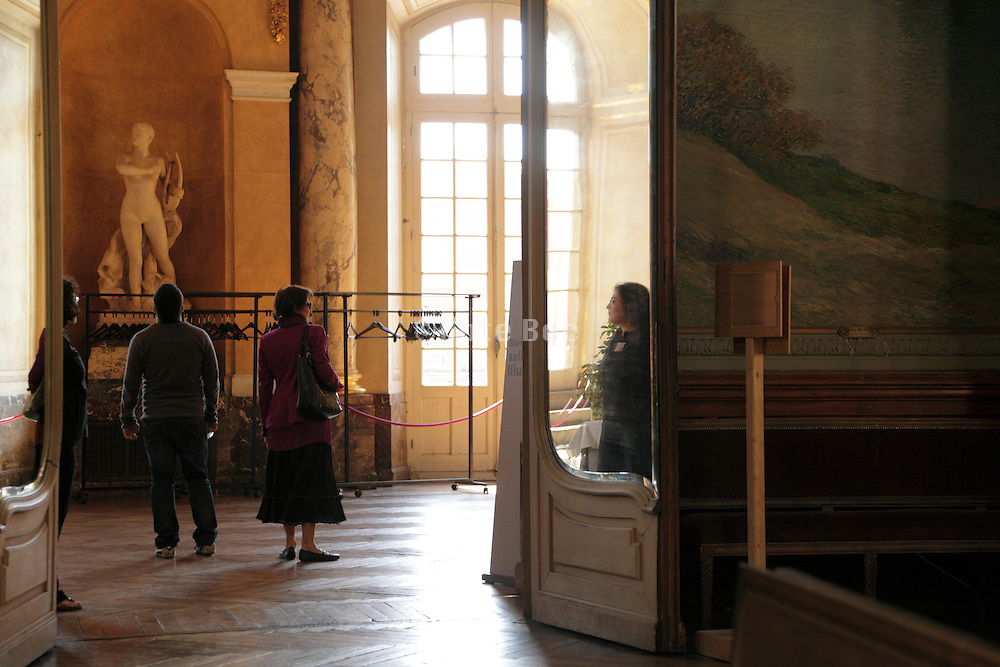 hall in the Capitole in Toulouse France