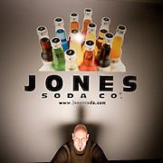 Peter Van Stolk, Founder, President, and CEO of Jones Soda.