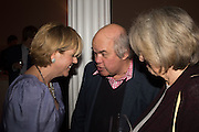 RACHEL KELLY; MARK FISHER, Party to celbrate the publication of ' Walking on Sunshine' 52 Small steps to Happiness' by Rachel Kelly. RSA. London. 9 November 2015