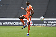 Shrewsbury Town defender Omar Beckles (6) controls the ball during the EFL Sky Bet League 1 match between Coventry City and Shrewsbury Town at the Ricoh Arena, Coventry, England on 28 April 2019.