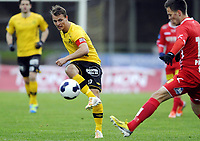 Fotball<br /> 07.05.22014<br /> Norgesmesterskapet 2. runde<br /> Moss v Lillestrøm 0:5<br /> Foto: Morten Olsen, Digitalsport<br /> <br /> Thomas Klaussen (10) - Moss
