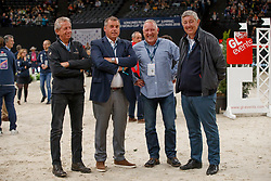 Andre Frans, Philippaerts Ludo, Van Loo Kris, Cerlooy Axel, BEL<br /> LONGINES FEI World Cup™ Finals Paris 2018<br /> © Hippo Foto - Stefan Lafrentz<br /> 15/04/2018