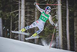 28.12.2018, Panoramapiste, Semmering, AUT, FIS Weltcup Ski Alpin, Riesenslalom, Damen, 1. Lauf, im Bild Marlene Schmotz (GER) // Marlene Schmotz of Germany in action during her 1st run of ladie's Giant Slalom of FIS ski alpine world cup at the Panoramapiste in Semmering, Austria on 2018/12/28. EXPA Pictures © 2018, PhotoCredit: EXPA/ Dominik Angerer