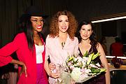 Kalen Aubry, Jenni Luke, and Founder of Step Up Women's Network Kaye Popofsky Kramer