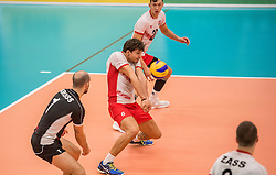 23-09-2016 NED: EK Kwalificatie Nederland - Oostenrijk, Koog aan de Zaan<br /> Nederland wint met 3-0 van Oostenrijk / Anton Lukas Menner #6