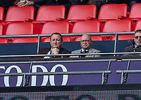 Football - 2018 / 2019 Premier League - Tottenham Hotspur vs. Newcastle United<br /> <br /> Newcastle owner Mike Ashley looks on from the directors box at Wembley Stadium.<br /> <br /> COLORSPORT/DANIEL BEARHAM