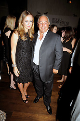 LUCY YEOMANS and SIR PHILIP GREEN at the Harper's Bazaar Women of the Year Awards 2008 at The Landau, The Langham Hotel, Portland Place, London on 1st September 2008.<br /> <br /> NON EXCLUSIVE - WORLD RIGHTS