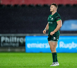 Peter Robb of Connacht<br /> <br /> Photographer Simon King/Replay Images<br /> <br /> Guinness PRO14 Round 6 - Ospreys v Connacht - Saturday 2nd November 2019 - Liberty Stadium - Swansea<br /> <br /> World Copyright © Replay Images . All rights reserved. info@replayimages.co.uk - http://replayimages.co.uk