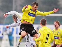 13. April 2009 , Fotball , Adeccoligaen , Stavanger IF (SIF) - Moss , Martin Thømt Jensen , Moss , Torger Motland , SIF , Christer Jensen , Moss , (nr 9)