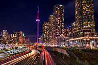 Eastern View from Bathurst Street Bridge, Toronto