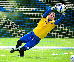 Bristol Rovers' goalkeeper, Conor Gough - Photo mandatory by-line: Dougie Allward/JMP - Tel: Mobile: 07966 386802 24/06/2013 - SPORT - FOOTBALL - Bristol -  Bristol Rovers - Pre Season Training - Npower League Two