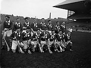 17/03/1960<br /> 03/17/1960<br /> 17 March 1960<br /> Railway Cup Finals: Munster v Leinster at Croke Park, Dublin. Leinster team.