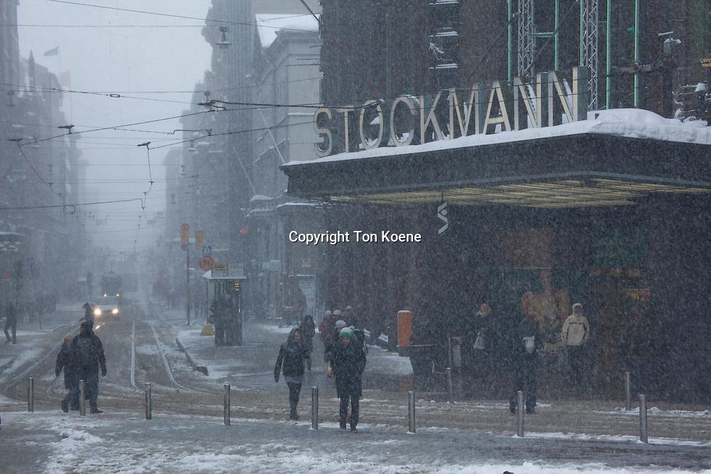 stockmann store in helsinki