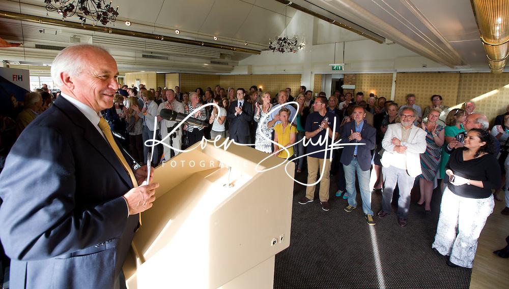 SCHEVENINGEN  (Den Haag) - FIH bijeenkomst . Leandro Negre  . COPYRIGHT KOEN SUYK