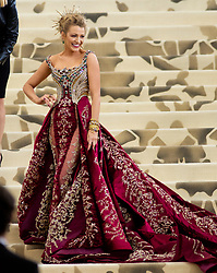 Heavenly Bodies: Fashion & The Catholic Imagination Costume Institute Gala Metropolitan Museum of Art, NY. 07 May 2018 Pictured: Blake Lively. Photo credit: RCF / MEGA TheMegaAgency.com +1 888 505 6342