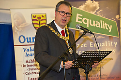 Pictured: Edinburgh Lord Provost Donald Wilson<br /> <br /> SNP Brexit minister Mike Russell spoke at an Edinburgh and Lothians Regional Equality Council event which aimed to facilitate discussion between service providers in the public and third sectors, and asylum seekers and refugees in order to hear about the circumstances and needs.<br /> <br /> Ger Harley   EEm 6 December 2016