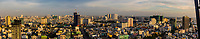 Panoramic view of Ho Chi Minh City (Saigon), the largest city in Vietnam.