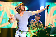 Country singer Jake Owen performing on the CMT Tour 2012 at the Pageant in St. Louis on December 8, 2012.