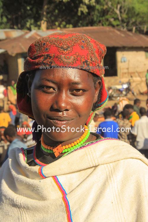 Ethiopia, Smiling Derashe Woman