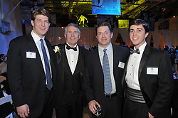 Jack Ford and Family. Yale University Department of Athletics Blue Leadership Ball 2009. Formal Pose at The Lanman Center before Presentation of Awards to Blue Leader Honorees and Speeches.