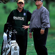 After being one of the lucky few to get picked-up from the parking lot for work that week, caddy Cliff Robinson was hoping former US Open winner Scott Simpson would play well enough to make the cut and play through the weekend, thus guaranteeing winnings. Simpson did not make the cut.