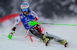 15.01.2016, Hermann Maier Weltcupstrecke, Flachau, AUT, FIS Weltcup Ski Alpin, Flachau, Damen, Slalom, 1. Lauf, im Bild Eva-Maria Brem (AUT) // Eva-Maria Brem of Austria competes in the 1st run of Ladie's Slalom for the FIS Ski Alpine World Cup at the Hermann Maier Weltcupstrecke in Flachau, Austria on 2016/01/15. EXPA Pictures © 2016, PhotoCredit: EXPA/ Erich Spiess