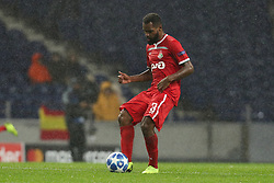 November 6, 2018 - Porto, Porto, Portugal - Bryan Idowu defender of FC Lokomotiv Moscow in action during the UEFA Champions League, match between FC Porto and FC Lokomotiv Moscow, at Dragao Stadium in Porto on November 6, 2018 in Porto, Portugal. (Credit Image: © Dpi/NurPhoto via ZUMA Press)