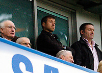 Photo: Leigh Quinnell.<br /> Chelsea v Norwich City. The FA Cup. 17/02/2007.<br /> Chelseas owner Roman Abromavich watches from his box.