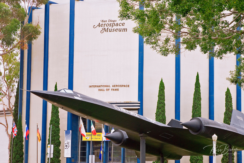 The San Diego Aerospace Museum in Balboa Park, San Diego, California