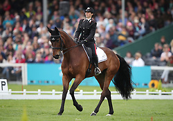 Italy's Arianna Schivo on Quefira de L'Ormeau competes in the dressage during day three of the 2019 Mitsubishi Motors Badminton Horse Trials at The Badminton Estate, Gloucestershire.