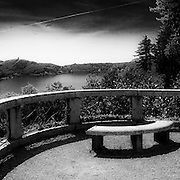 Il lago d'Orta visto dal Sacro Monte  ..Orta lake seen from Sacred Mount of Orta