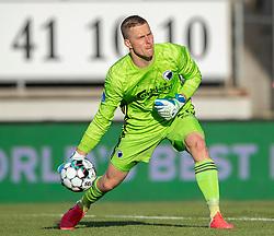 Karl-Johan Johnsson (FC København) under kampen i 3F Superligaen mellem Lyngby Boldklub og FC København den 1. juni 2020 på Lyngby Stadion (Foto: Claus Birch).
