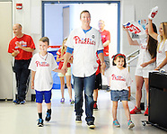 Phillies Cody Asche Visits Elementary School