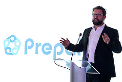 Ben Lindeque, Business Architect at Prepaid24.com during the launch of the 2016 Nelson Mandela Legacy Cup held at the PPC Newlands ground in Cape Town on the 11th November 2016.  The match between The Proteas and the Springboks will be played on the 8th December at Newlands.<br /> <br /> Photo by: Ron Gaunt / RealTime Images