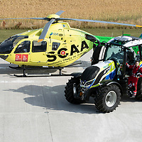 SCAA & Police Scotland Tractor