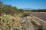 Historic US Route 89, now Arizona 79, between Tucson and Florence, Arizona