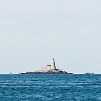 Gannet Rock Lighthouse, Bay of Fundy, New Brunswick