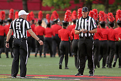 02 September 2017:   Matt Packowski & Paul Janus during the Butler Bulldogs at  Illinois State Redbirds Football game at Hancock Stadium in Normal IL (Photo by Alan Look)