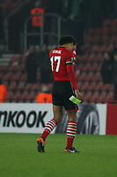 Football - 2016 / 2017 UEFA Europa League - Group K: Southampton vs Hapoel Be'er Sheva<br /> <br /> A dejected Virgil van Dijk trudges off the pictch after his late goal fails to see Saints through to the knock out stages at St Mary's Stadium Southampton England<br /> <br /> COLORSPORT/SHAUN BOGGUST