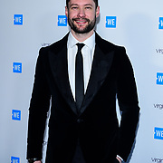 Calum Scott Arrives at 2020 WE Day UK at Wembley Arena, London, Uk 4 March 2020.