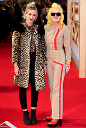 Beth Jeans Houghton and Pam Hogg attending the UK Premiere of A Star is Born held at the Vue West End, Leicester Square, London.